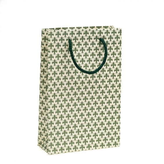 shopper bag piccolo Shopper Verde Linea Giglio