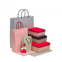 collezione loris of florence scatole e carta regalo shopper bags linea giglio firenze
